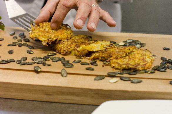 Kürbis-Kartoffelpuffer
