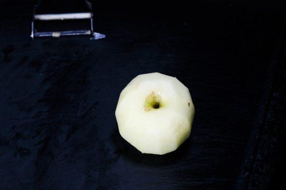 Eismeersaibling mit Schwarzwurzel